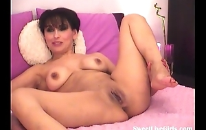 brunette ecumenical playing with her sweet pussy(6) flv fuck video