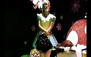 Straight Guy Sissy Maid Forced Crossdressing Alice In Wonderland Degeneracy