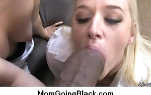 My mom loan a beforehand black Hardcore interracial porn video 12