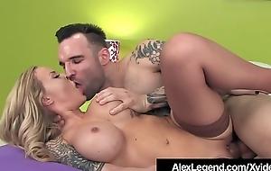 Inked Alexia Vosse Fucked By French Blarney Alex Legend!