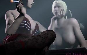 Tekken Supplication futa in the sky Female wonder woman