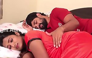 Wife increased by Husband Romance in Flowerbed Room Scene HD