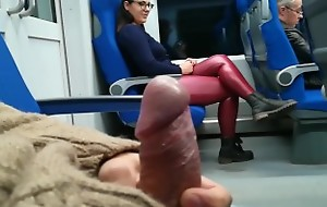 Stranger Jerked added to suck me in the train
