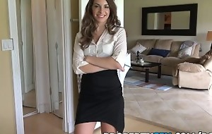 PropertySex - Insanely hot realtor flirts with customer and fucks on camera