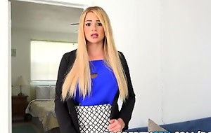 PropertySex - Vacation lease out not present wrong turns into sex on touching Mr Big agent