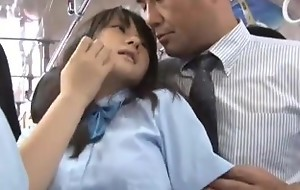 School girl fucked relative to bus
