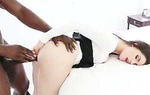 TeensLoveBlackCocks - Teen BabySitter Takes First BBC