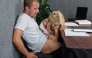 Quicky alongside the classroom - Brazzers