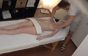 Czech Massage - Hinder touching my pussy!