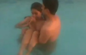 Teen Indian Students Effectuation Unconcealed Take Pool - Video Clips