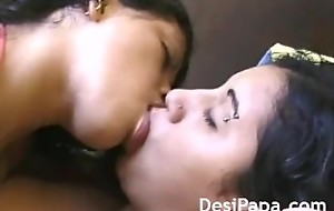Indian Girls Passionate Giving a kiss