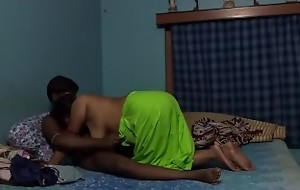 Bengali Wife Fucked wide of say no to Young Boy Friend