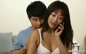 Innocent Korean girl fucked while tried to give excuses a phone call and wife swap