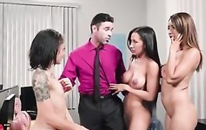 Charles is lucky to enjoyment from three bonny babes in a difficulty office