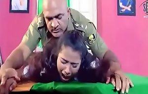 Army officer is forcing a lady to hard sexual relations there his cabinet