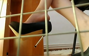 Caged With Only The View Of My Heels by CarlyQueenn