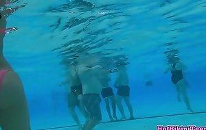 Bikini Beauties Underwater Spy Action Cam Hidden