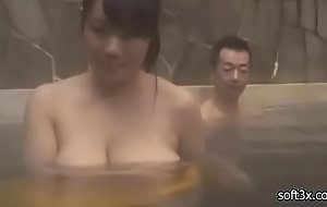 to hand the onsen