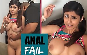 MIA KHALIFA - In serious trouble The Scenes FAIL! This Is Why I Don'_t Shoot Anal Scenes Haha