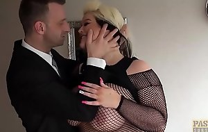 PASCALSSUBSLUTS - Naughty BBW Sindy endures rough distress