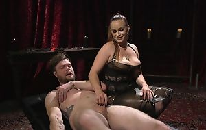 Submissive defy receives anally fucked hard by frying mistress