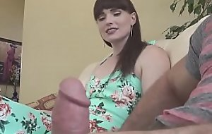 Natalie Mars sexy shemale fucks guy ass