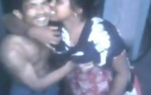 Horny Desi indian village  prostitute decide coitus threesome fucking hard