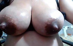 Chocolate milky boobs