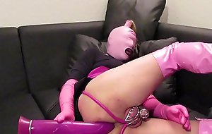 sissy slave plays anal and hopes for sissygasm