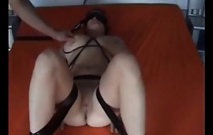 slapping the fat whorey boobs of Babs