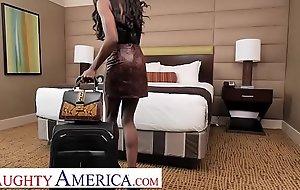 Naughty America - Ana Foxxx needs room service of coffee and COCK!!!