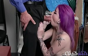 Horny Cop Force Fucks Teen-Val Steele