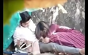 indian couple fucking in park part 1