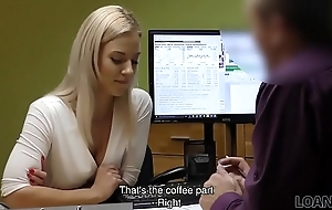 LOAN4K. Cutie has to largeness legs in office of solving her problems