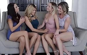 Lesbians Mother Daughter Exchange Club - Eva Hanker and Eliza Jane