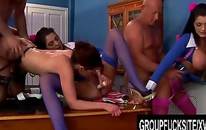 Group Fuck Site - Court Mandated Orgy with Busty British Hotties