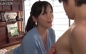 Japanese Mom Can't Resist Her Son's Dick-2