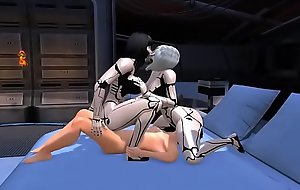 Sexbot threesome fantasy