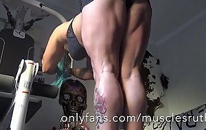 Hot ass muscle hamstring and sexy feet and glutes and toes