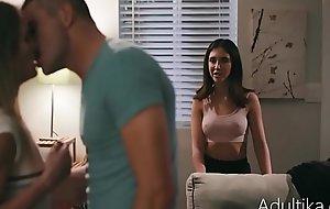 Sneaky Ex-Girlfriend Stalks And Fucks My Girlfriend And Me