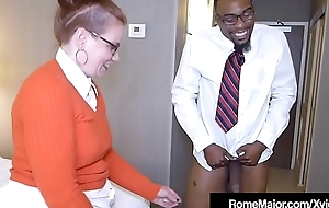 Black Cock Rome Major - Nerdy Anal anent Ginger Reigh!
