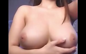 Beautiful Japanese with the most perfect boobs you'll ever see