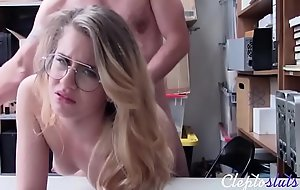 Stealing Nerd Fucks Cop For Bail- Taylor Blake