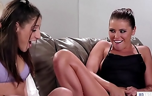Bachelorette party loopings into a squirting orgy - Adriana Chechik, Abella Gamble plus Luna Star