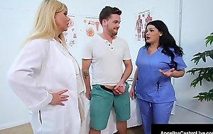 Big Dr Dick Suckers Angelina Castro and Karen Fisher Cure Cock