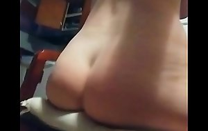MILF HUMPING PILLOW IN KITCHEN