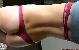 Beautiful wife is dancing striptease - YOURBONGACAMSXXX movie clip