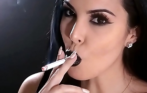 Lash one girl smoking compilation in excess of the net