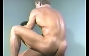 Chris Stone fucking and cumming Chance Caldwell - Cellblock Sinner (1993), vintage