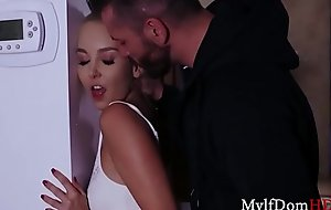 Blonde MILF Fucked By An Intruder- Aaliyah Love